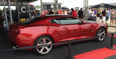 2016 Chevy Camaro Visits Indianapolis Motor Speedway for Brickyard 400