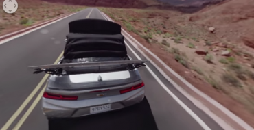 "Experience the 2016 Chevy Camaro Convertible with ""Open Sky"" Video"