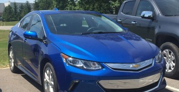 2016 Chevrolet Volt Spotted In The Wild