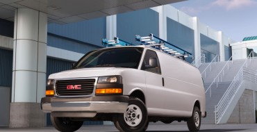 2016 GMC Savana Gets Nominal Upgrades Including Onstar 4G LTE