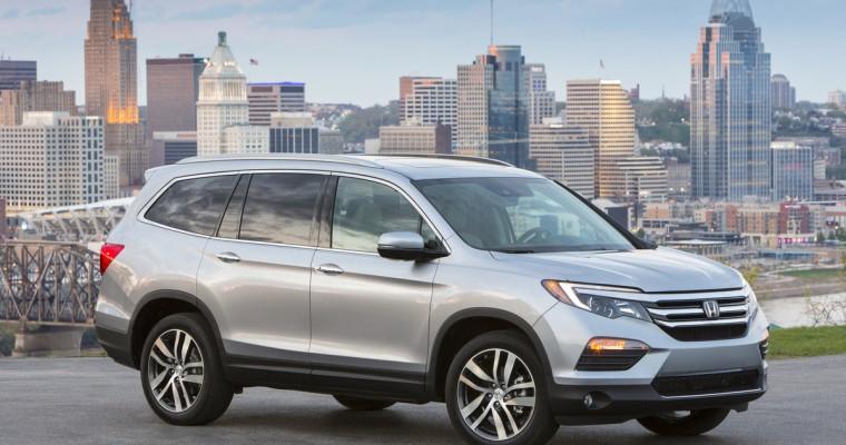 Honda and Acura Sales Both Down in November
