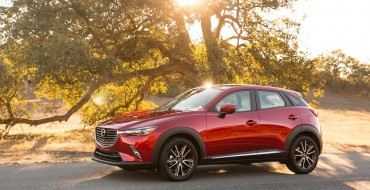 Mazda CX-3 Wins Automobile Journalists Association of Canada's 'Utility Vehicle of the Year' Award