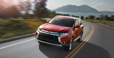 IIHS Names 2016 Mitsubishi Outlander Top Safety Pick+