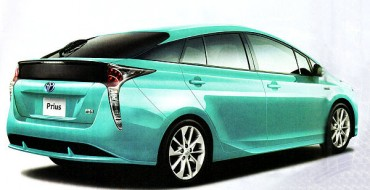 Possible 2016 Toyota Prius Photos Leaked