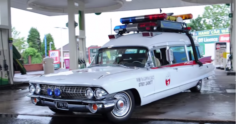 British Fan Builds His Own <em>Ghostbusters</em> Ecto-1
