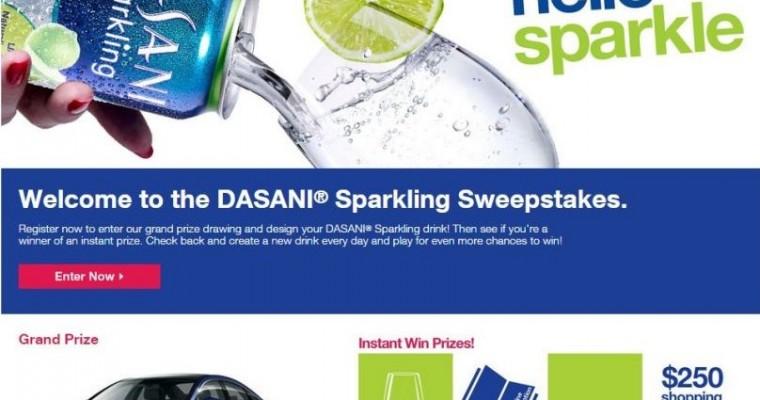Enter DASANI Sparkling Sweepstakes for a 2015 Hyundai Sonata, No Drinking Necessary