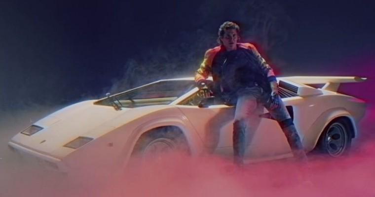 "David Hasselhoff's ""True Survivor"" Music Video Showcases an '80s Lamborghini Countach"
