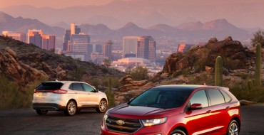 2015 Ford Edge Earns TOP SAFETY PICK Honors from IIHS