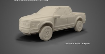 Ford Offering Files to 3D Print Performance Models