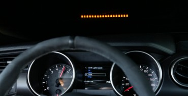 Ford Adding Performance Shift Light Indicator to Shelby GT350, GT350R Mustangs