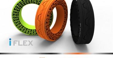 Hankook Reveals Airless iFlex Tires