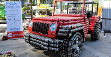 Fiat-Chrysler Introduces New Special-Edition Jeep Wrangler Made of Cans