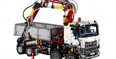 Lego and Mercedes-Benz Team Up to Assemble Lego Mercedes-Benz Arocs Truck