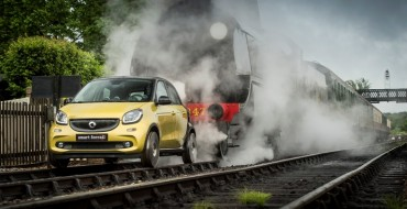 "Mercedes-Benz Smart ""Forrail"" Train Kept A-Rollin' During Test Drive"