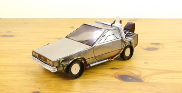 How to Turn a Pepsi Can into a DeLorean DMC-12