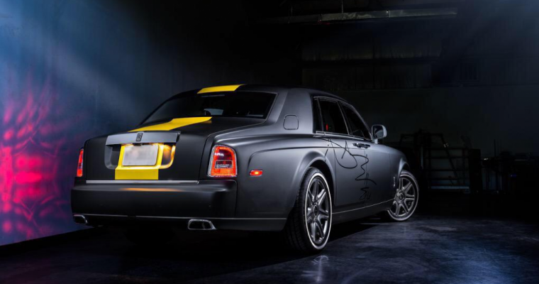 Pittsburgh Steeler Antonio Brown Customizes New Rolls Royce Phantom in Time for Training Camp