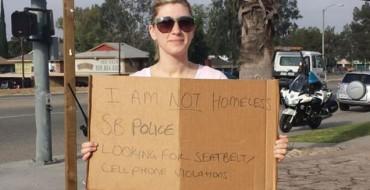 San Bernadino Police Go <em>Sort of</em> Undercover to Catch Traffic Violations
