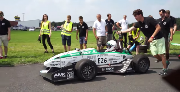 German Team Breaks World Acceleration Record