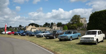Toyota's UK Anniversary Celebrated with Heritage Fleet