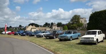 Toyota's UK Anniversary Celebrated with Heritage Fleet