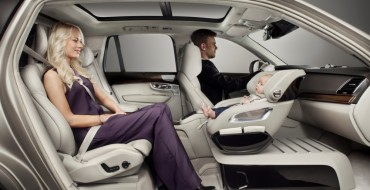 Volvo's Excellence Child Seat Concept Delivers Bold New Seating Arrangement