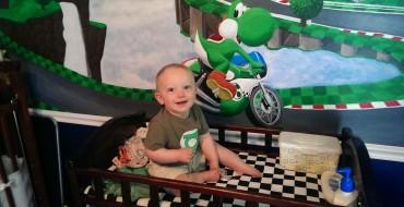 World's Greatest Dad Builds Son a Mario Kart Nursery