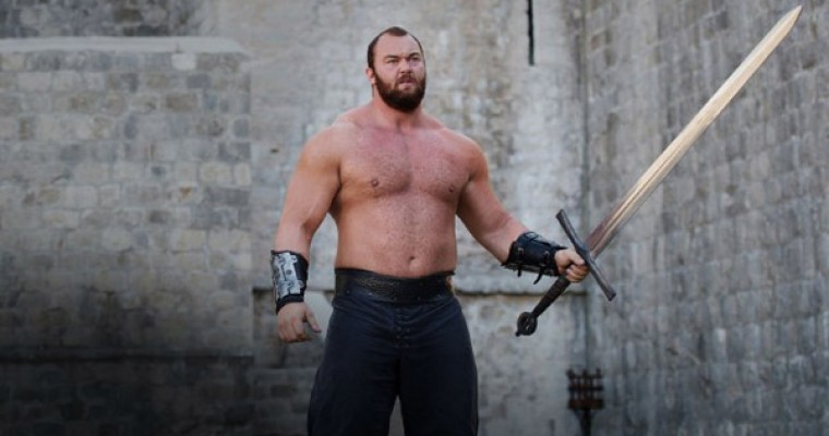 Game of Thrones' The Mountain Wears VW Beetle in Strongest Man Competition