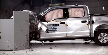 2015 Ford F-150 SuperCrew Earns IIHS Top Safety Pick