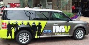 Ford Donates Seven Flex Utility Vehicles to DAV