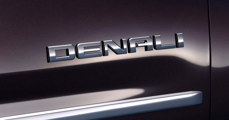 GMC Doesn't Intend to Capitalize on Denali Name-Change