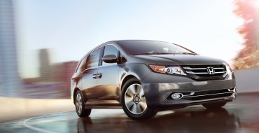 2016 Honda Odyssey Awarded Five-Star Safety Rating from NHTSA