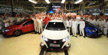 Honda Civic Type R Begins Production in UK