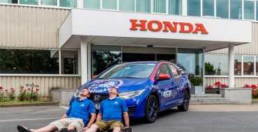 Honda Sets Fuel Efficiency World Record with Civic Tourer