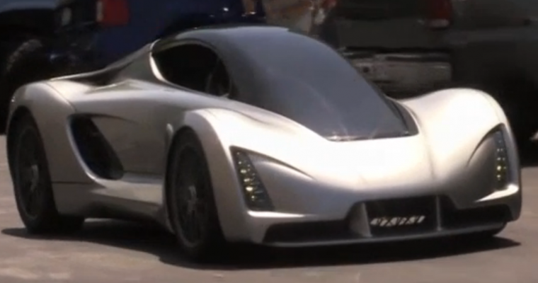 "Meet ""Blade"": The 3D-Printed Supercar"