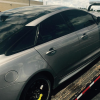 David Price's Jaguar XJR Gets a Flat Going from Detroit to Toronto