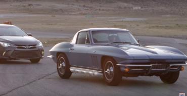 Edmunds.com Pits 1966 Corvette Against 2015 Toyota Camry