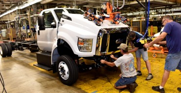 Ford Kicks Off F-650/F-750 Production at Ohio Assembly