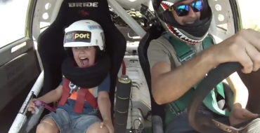 Father Takes Five-Year-Old Son Drifting For Father-Son Bonding