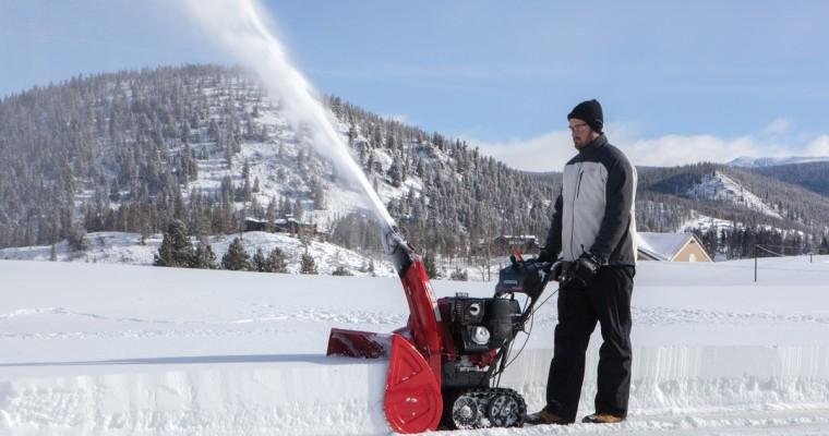 Honda Introduces HSS Series of Snow Blowers