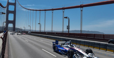 Marco Andretti Honors Justin Wilson's Memory with Drive Across Golden Gate Bridge