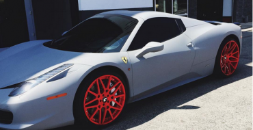 Kylie Jenner Adds Custom Paint Job and Rims To Her Ferrari 458 Spider