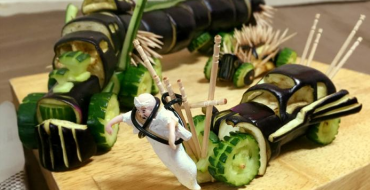 Buddhist Twitter User Shares Images of 'Mad Max: Fury Road' Cars He Made With Vegetables