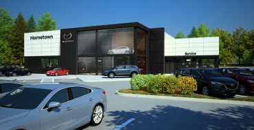 Mazda Announces New Dealership Design Language