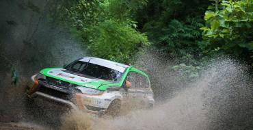 Mitsubishi Hits Rally Circuit with Outlander PHEV