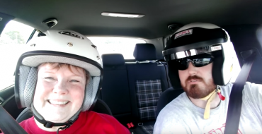 Autocross Racer Takes Adorable Mom Out for a Spin