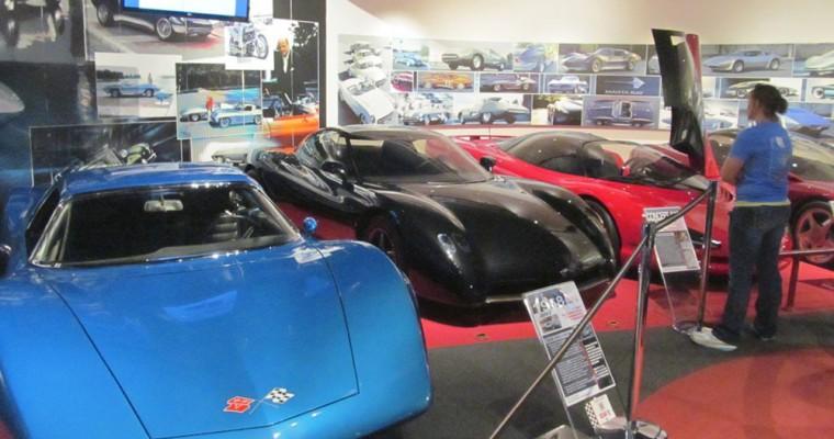 National Corvette Museum Sinkhole Exhibit Finally Opens