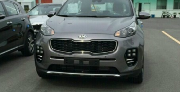Next-Generation Kia Sportage Spied without Camouflage