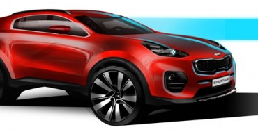 Kia Teases Next-Generation Sportage before Debut