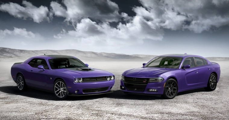 Dodge Brings Back Classic Plum Crazy Exterior Color for 2016 Challenger & Charger