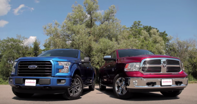 Ram 1500 EcoDiesel Beats Ford F-150 EcoBoost in Fuel Efficiency